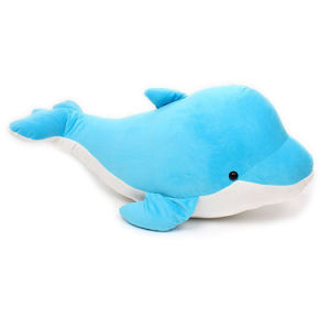 Custom Made Super Soft Stuffed Toy Plush Dolphin pictures & photos