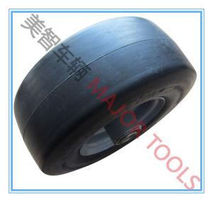 9X3.5 PU Foam Wheel; 216 mm Diameter PU Foam Wheel Flat Free Rubber Cart Wheel pictures & photos