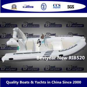 Bestyear Rigid Inflatable Boat of New Rib520 pictures & photos
