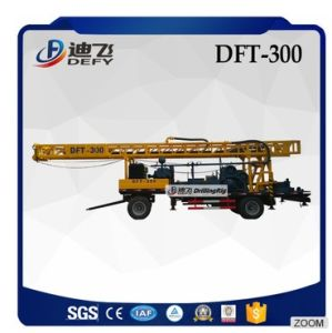 Economical Dft-300 Trailer Mounted Water Drilling Rigs pictures & photos