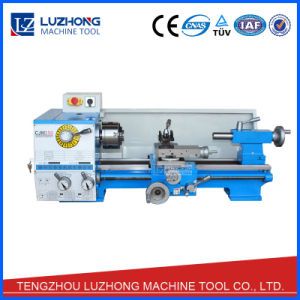 Manual Small Bench Top Mini Lathe Machine for Sell (CJM250) pictures & photos