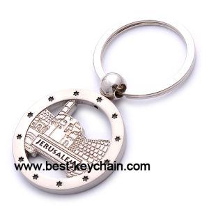 Zinc Alloy Metal Souvenir Emboss Custom Israel Key Chain (BK52629) pictures & photos
