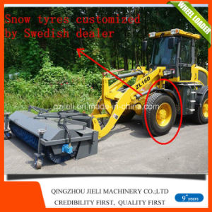 Small Mini Front End Loader with Snow Bucket Pallet Fork pictures & photos