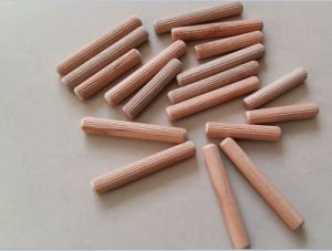 12X80mm Grooved Wooden Dowel to South American Market pictures & photos