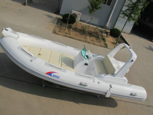 Inflatable Rib Boat, Sport Motor Boat, Fishing Boat Rib520c with Ce Cert. pictures & photos