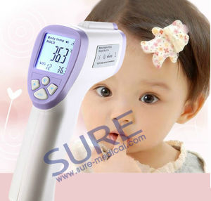 Good Quality Non-Conact Non-Contact Infrared Thermometer with ISO Approval pictures & photos