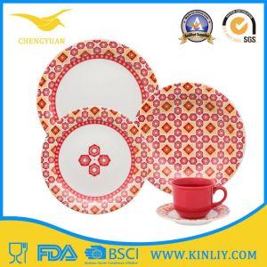 Melamine Plastic Dinnerware Tableware Set Dinner Plate for Home Use pictures & photos