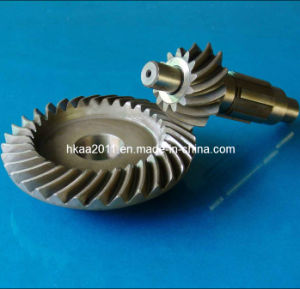 Precision Steel Helical Bevel Gear, Spiral Bevel Gears pictures & photos