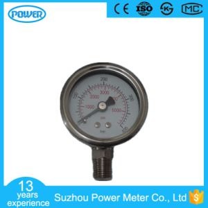 40mm Full Stainless Steel Bottom Type Manometer pictures & photos