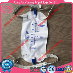 Disposable PVC Urine Leg Bag 500ml pictures & photos