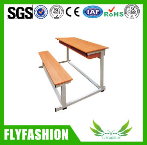 School Student Table and Bench for Double (SF-34D) pictures & photos
