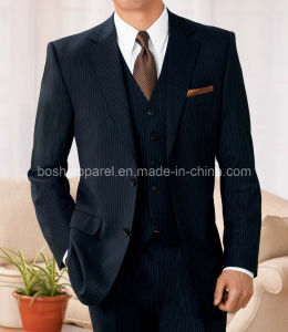 Great Workmanship Custom Men′s Suit (MSU05) pictures & photos