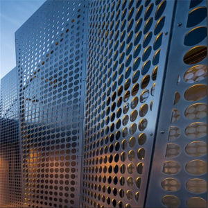 China Architectural Wire Mesh Perforated Metal Sheet For Building - Architectural wire mesh