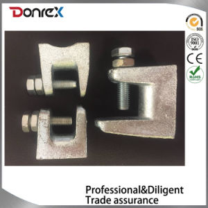 Zinc Plated Adjustable Beam Clamps with Screw and Bolt pictures & photos