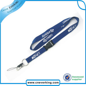 Flat Printed Lanyards with Bull Dog Clip pictures & photos