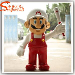 Wholesale Cheap Life Size Fiberglass Super Marie Statue pictures & photos