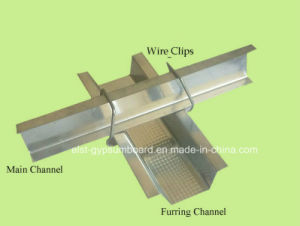 Suspended Ceiling Accessories Wire Clip45#/Steel Frame/Steel Profile/Steel Chanel pictures & photos