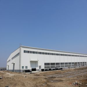 Three-Storey Steel Structure Workshop for Processing Vegetable pictures & photos
