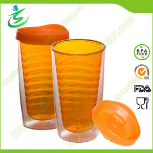 16 Oz Double Wall BPA-Free Straw Water Tumbler (TB-A3) pictures & photos