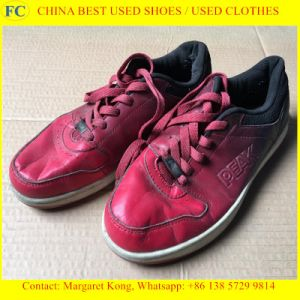 Clean and Big Size Man Sport Used Shoes for Africa Market pictures & photos