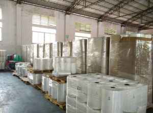 Hot Sales! ! LLDPE Stretch Film/LLDPE Jumbo Roll Stretch Film /LLDPE Shrink Wrap Film for Pallet Wrapping pictures & photos