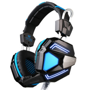 Surround Sound USB Stereo Computer Gaming Headset with Mic/LED pictures & photos