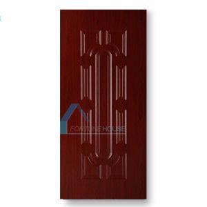 Melamine HDF MDF Board Door Skin with Red Wood Color Veneer pictures & photos