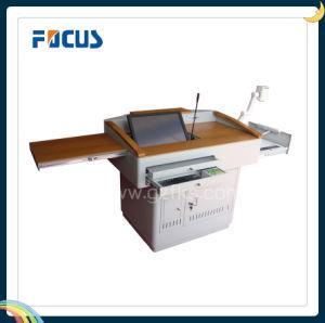 Focus S600 Digital Wooden and Steel Teaching Rostrum