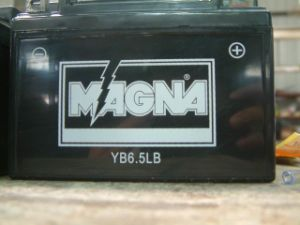 Yb6.5L-B Motorcycle Battery