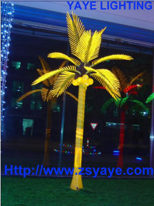 Yaye CE & RoHS Approval Waterproof IP65 Outdoor LED Coconut Tree Light & LED Coconut Tree pictures & photos