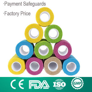 Hydoallergenic Adhesive Elastic Bandage Colorful Cohesive Bandage pictures & photos