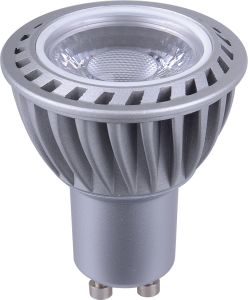 Dimmable 5W7w GU10 COB LED MR16 Plastic Cover LED Cups LED Spot Light pictures & photos