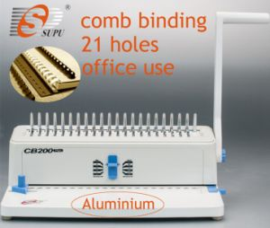 Office Type Manual Comb Binding Machines (CB200 PLUS) pictures & photos