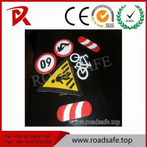 Traffic Indicator Sign Pavement Speed Limited Sign Road Marking Tape pictures & photos