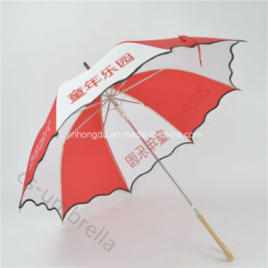 "Black Edge Auto 19"" Children Advertising and Promotion Umbrella (YSS0129) pictures & photos"