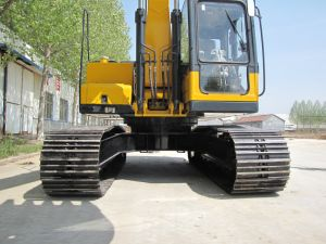 China Supply Yellow 0.7m3 Bucket New Crawler Excavator with ISO9001 Certificate pictures & photos