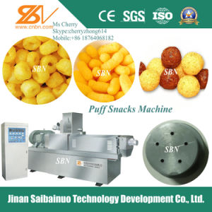 Puffed Corn Snacks Food Making Machinery pictures & photos