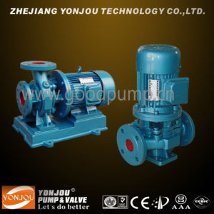 Pipeline Centrifugal Water Pump for Water, Chemical, Hot Water and Oil pictures & photos
