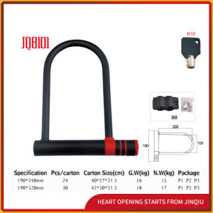 Jq8101 Combination Bicycle Lock U Shape Locks pictures & photos