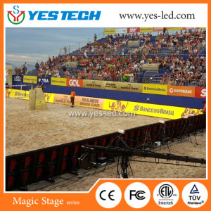 Full Color SMD High Brightness Football Stadium LED Display Screen pictures & photos
