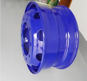 Aluminum Alloy Wheel Use in Truck Motor Bus and Trailer pictures & photos