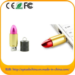 Different Color Lipstick Gift USB Pen Free Custom Logo (ET608) pictures & photos
