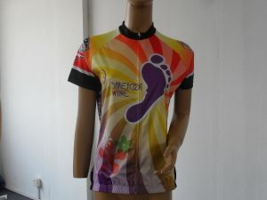 100% Polyester Women′s Digital Sublimation Print Cycling Wear