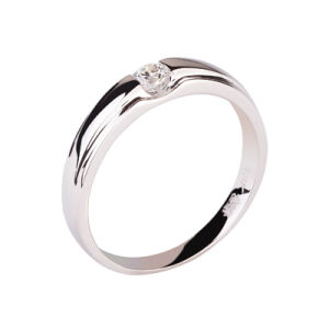 925 Silver Ring With Diamond (106-23)