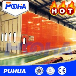 Automatic Recovery System Sand Blasting Chamber Room /Blasting Room pictures & photos