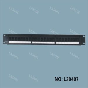 24 Ports Modular Patch Panel with Module