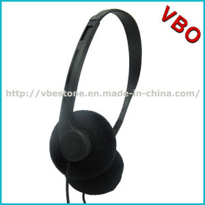 3.5mm Audio Jack Stereo Headset, Disposable Airline Headset pictures & photos