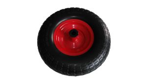 Wheelbarrow Tyre and Tube Pneumatic Ruuber Wheels 13X4.00-6 pictures & photos