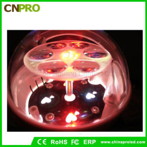 Ratatable Snowflake Butterfly Christmas Party Magic Ball Stage Light LED pictures & photos