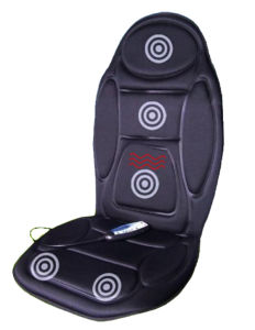 Battery Operated Vibration Lumbar Massage Cushion pictures & photos